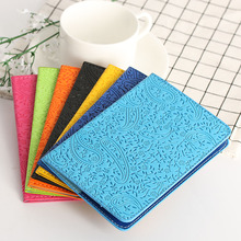 1PC 7 Colors Lavender Passport Holder Cover Travel Ticket Pouch Package Bag Case