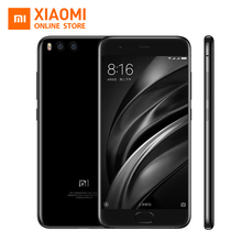 Original Xiaomi Mi6 Mi 6 Mobile phone 6GB RAM 128GB ROM Snapdragon 835 Octa Core 5.15'' NFC 1920x1080 DualCameras Android 7.1 OS(China)