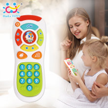 HUILE TOYS 3113 Baby Toys Electric Click & Count Remote with Light & Music Kids Early Learning Educational Toys for Toddler Gift(China)