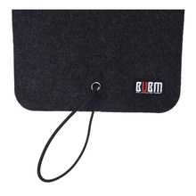 BUBM Felt Sleeve Case Bag Organizer Protection Pouch Cover For Wireless Bluetooth Computer Cell Phone Earphone Accessory Mouse