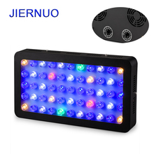 165W LED Aquarium Grow Light Dimmable 55leds Full Spectrum Aquarium light for Coral reef Fish pet plant growth tank lighting