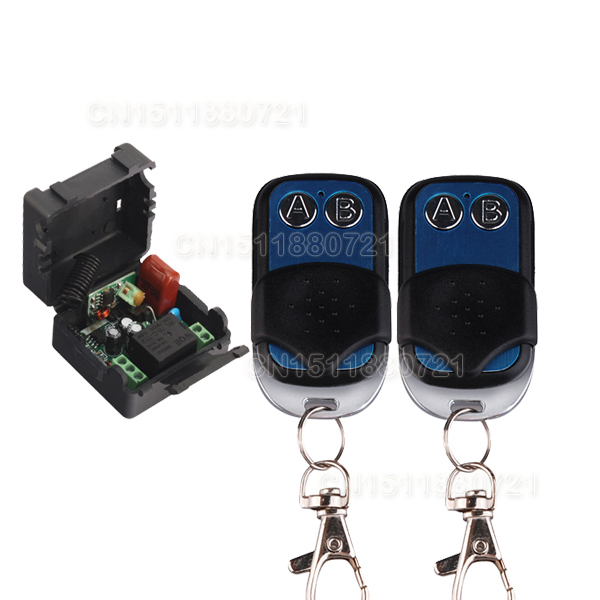 1CH AC220V RF Wireless Mini Switch Relay Receiver 2CH Remote Controllers Lighting LED Lamp ON OFF Learning Switch<br><br>Aliexpress