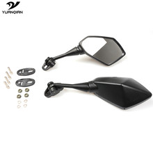 Universal Motorbike Motorcycle Scooters Racer Rearview Back Side View Mirror for KAWASAKI ZX636R ZX6R ninja 250 300 650 Hyosung