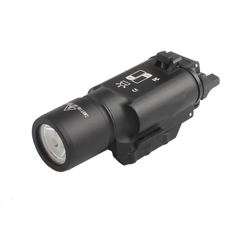 Tactical X300 LED Weapon light Flashlight Torch For Hunting Free Shipping HT8-0002-01 nologo