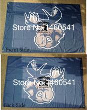 Manitoba Moose Flag 3ft x 5ft Polyester American Hockey League AHL Banner Size 4 144* 96cm QingQing Flag