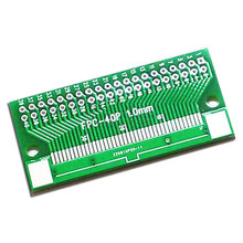 5 PCS/LOT through board FPC 40 p FFC 2.54 1 mm, 0.5 mm spacing double-sided LCD