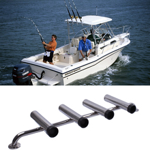 304 Stainless Steel Fishing Rod Holder Tube Rocket Launcher Boat Outfitting Rod Holders Boat Marine Superb(China)