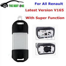 New Arrival ! V165 Renault Can Clip Auto Diagnostic Tool CAN CLIP V165 For Renault Support Multi-function Auto OBD2 Scanner