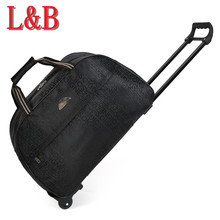 2016 New Wheel Luggage Metal Trolley Bag Women Travel Bags Hand Trolley Unisex Bag Large Capacity Travel Bags Suitcase Sac Board
