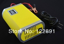 Hot Sale! 12V 6A Smart Fully-Automatic Car Battery Charger Short Circuit & Reverse Polarity Protection 2PCS/Lot Free Shipping(China)