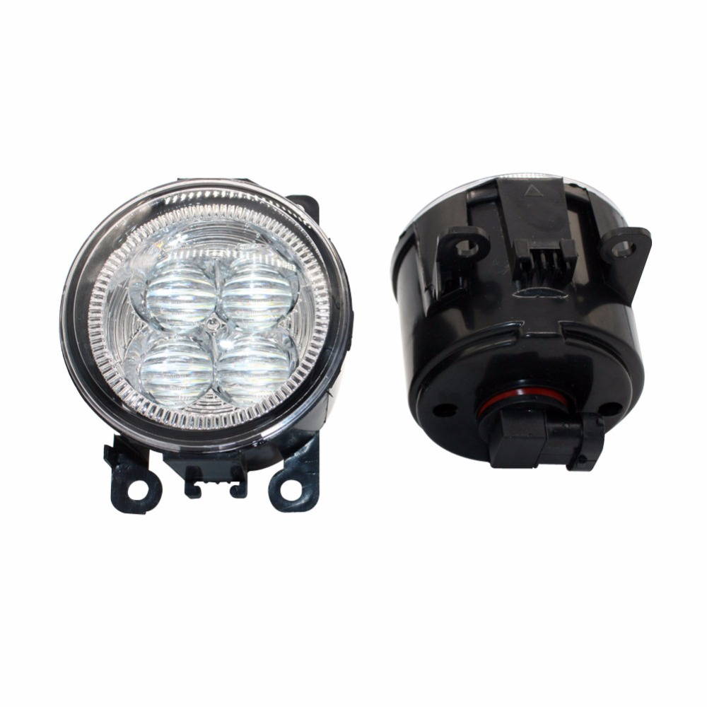 LED Front Fog Lights For LAND ROVER FREELANDER 2 LR2 2006-2014 Car Styling Bumper High Brightness DRL Driving fog lamps 1set<br>
