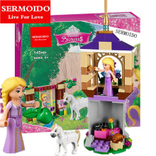 SERMOIDO 10564 Rapunzel's Best Day Ever Blocks Toys for children Bricks Toys Girl Game Toys for children Gift Decool Lepin 41065