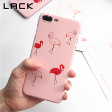 Buy LACK Lovely Cartoon Flamingo Phone Case iphone 7 Case Ultra thin Matte Hard PC Cases Fashion Back Cover iphone 7 Plus for $1.42 in AliExpress store