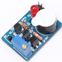 Electronic DIY Kit Temperature Control Sound Light Alarm Suite DC 3~5V Kit Electronic Circuit Training