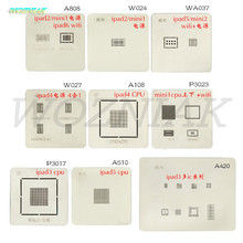 Wozniak Free Shipping New For iPad 2345 MINI Series Tin Mesh Power Supply WiFi CPU With Plant Tin Net Maintenance tool