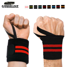 2Pcs Gym Hand Wraps Wrist Strap Weight Lifting Wrist Wraps Gloves Crossfit Dumbbell Powerlifting Wrist Support Sport Wristband(China)