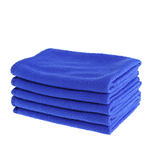 2019 New 5 Pcs Soft Absorbent Wash Cloth Car Auto Care Microfiber Cleaning Towels