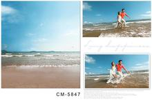 200*300cm Blue sky warm sea wedding backgrounds for photo studio photography backdrops