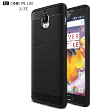 Oneplus 3T Case Cover Capa Carbon Fibre Brushed Soft Silicon One Plus 3 Phone Back Covers Shell oneplus Funda - Shop2792227 Store store