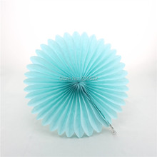 8'' 200pcs Colorful Tissue Paper Fans round rosettes for Party Wedding baby shower birthday party photo background