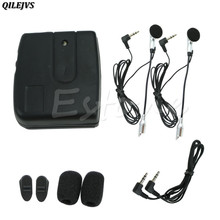 QILEJVS 2-way Motorcycle Motorbike Helmet Intercom Headset Communication System New Hot(China)