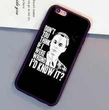 the big bang theory sheldon Soft Rubber Skin Brand Cell Phone Cases Bags For iPhone 6 6S Plus 7 7 Plus 5 5S 5C SE 4S Back Cover