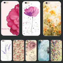 Soft TPU Cover For Apple iPhone 5 5S SE 6 6S 6Plus 6SPlus 7 7 Plus Case Cases Phone Shell Hot Sales Fresh Flower Nice Dandelion