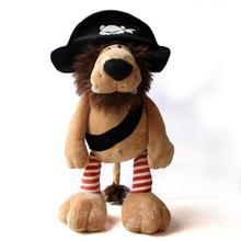 2016 New Manufacturer Provides Straightly Pirates Lion Plush dolls Stuffed Plush Toys GirlLarge size Birthday gift Quality(China)