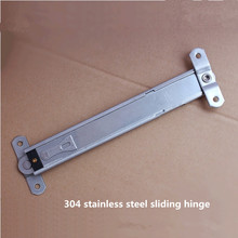 Free shipping steel sliding hinge single point telescopic strut, door window positioning wind support, suspension window support
