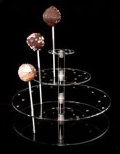 Multifunction Acrylic Display Racks Cake Stand Cupcake Holder Lollipop Display Stand