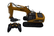 HuiNa 1560 560 2.4G 1/12 16 Channels Metal RC Excavator Broken Disassemble Charging RC Car Model Toys(China)