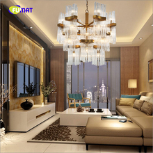K9 Crystal Pendant Lights Postmodern Creative Luxurious Suspension Lightings Living Room Bedroom Decorative Lights LED E14