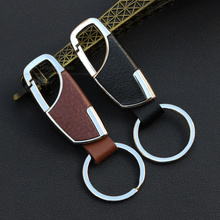 New Men Metal Key Chain Creative Gift Car Ring Simple car keychain For Chrysler 200 300 Aspen Pacifica Sebring Country any car