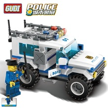 163pcs City Series Transport Vehicle Police SUV Figures Supect Building Block Educational Bricks Toys compatible with  legoingly