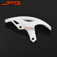 NEW PLASTIC REAR BRAKE DISC GUARD PROTECTION COVER FOR CRF250R CRF450R MOTORCROSS ENDURO SUPERMOTO DIRT BIKE