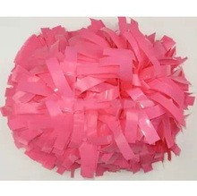 "6"" Cheerleader pompoms ( 10 pieces/lot) Surface will shine Cheerleading sports pompons supplies Color can choose"