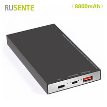 High quality Universal 8800mAh Power Bank External Battery charger for iPhone Samsung Huawei Xiaomi Nokia Mobile etc