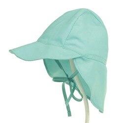 Детская солнцезащитная шапка для пляжа, SPF 50+