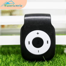 Waterlowrie Sport Mp3 Mini Clip MP3 Support Micro TF/SD Slot Portable USB MP 3 Players for running learning Relax(China)