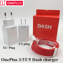 Original Oneplus 3t Dash Charger Oneplus 3 5 charger adapter USB wall fast charger&Type C dash cable For One plus 3 3t 5 charger