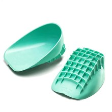 1 Pair S/L Silicone Gel Heel Support, Professional Plantar Fasciitis Cup Achilles Tendon Spur Pad Insoles, Heel Pain Relief(China)