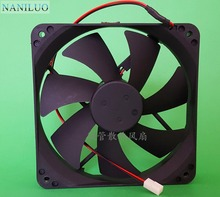 NANILUO Free Delivery. 120 * 120 * 25 mm 12 cm/cm ultra-quiet power supply 12 v fan D12SM - 12(China)