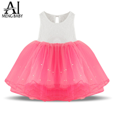 New 2017 girl party dress baby dress,kids girls baptism dresses baby clothing&children's clothes,princess tutu dresses for girls