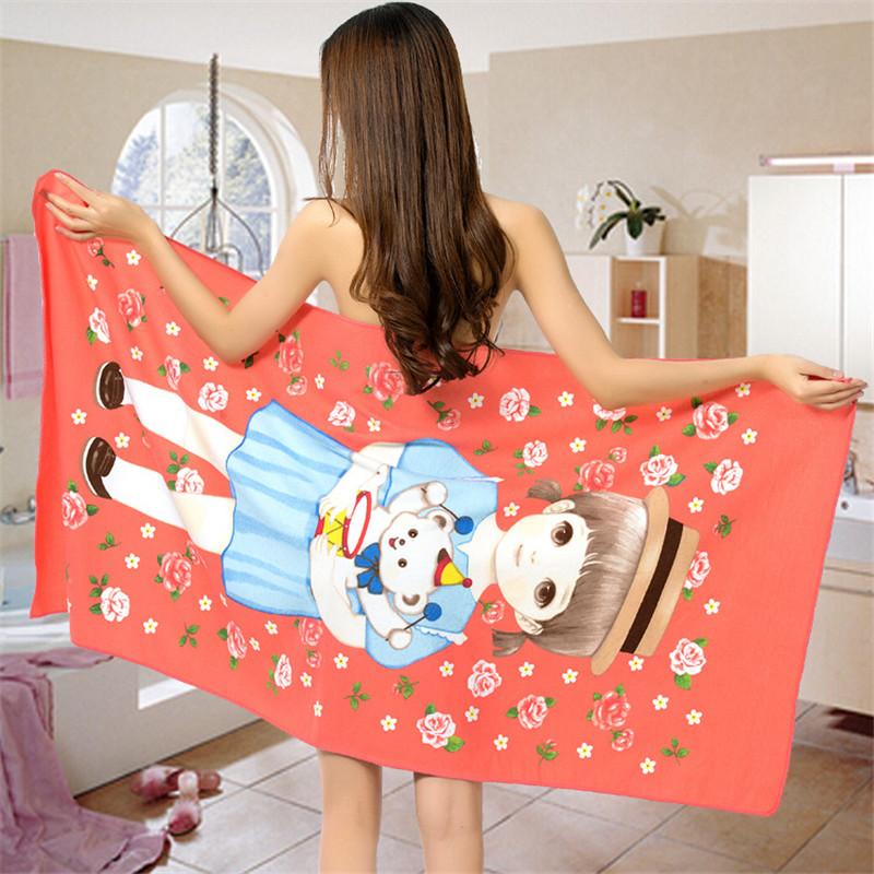 Micro Fiber Printed Beach Towel 140*70cm 54
