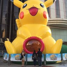 image inflatable cute cartoon product inflatable Pikachu wave to us(China)