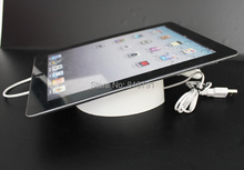 Retail Store Security Display Holder for Ipad Tablet PC with Charging and Alarm Remote Control