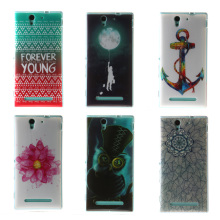 For Sony Xperia C3 D2533 C 3 Dual D2502 S55T S55u Case Cover Soft Silicone Back Cover Shell Mobile Phone Accessories Case Coque