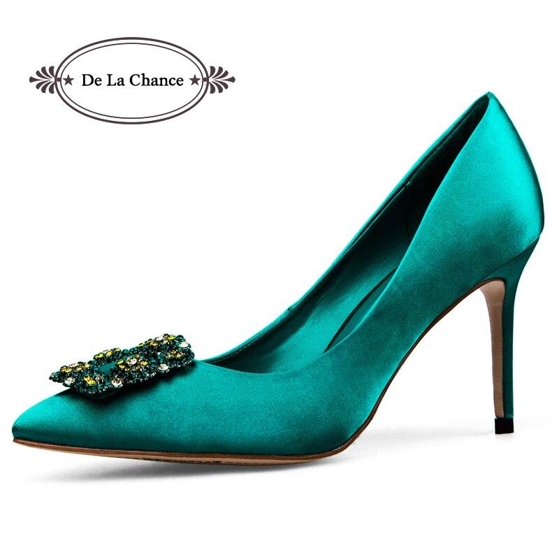 фото зелёные туфли
