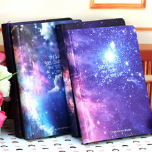 Hot Sale Galaxy Science Fiction Picture Cover Series 13*18cm Handcover Creative Dairy Journal Notebook Sketchbook(China)