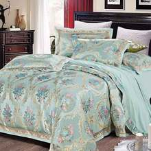 New Bedding Set Luxury Bedding Sets Cotton High Quality Jacquard Comfortable Bedding Duvet Cover Bed Sheet